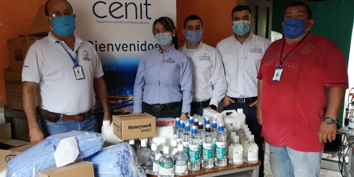 Cenit entregó elementos de bioseguridad en Norte de Santander